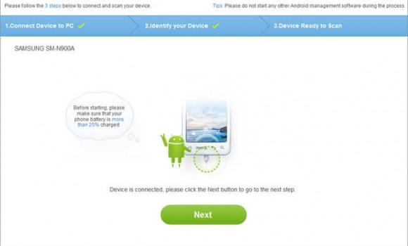 Dr.Fone for Android Ekran Görüntüleri - 1