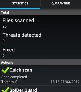Dr.Web Anti-virus Light Ekran Görüntüleri - 1