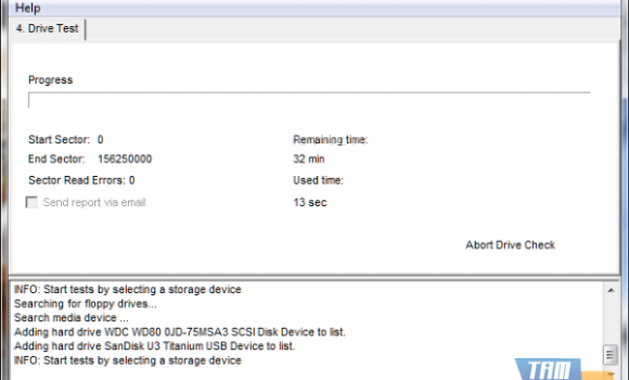 EASIS Drive Check Ekran Görüntüleri - 3