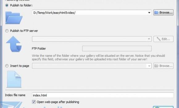 Easy HTML5 Video Ekran Görüntüleri - 4