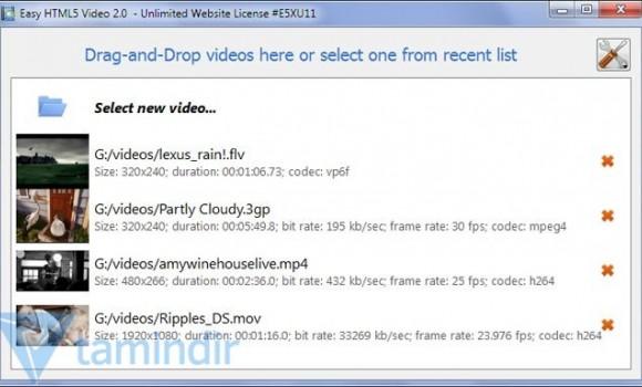 Easy HTML5 Video Ekran Görüntüleri - 2