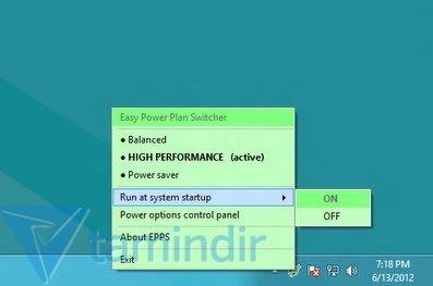 Easy Power Plan Switcher Ekran Görüntüleri - 1