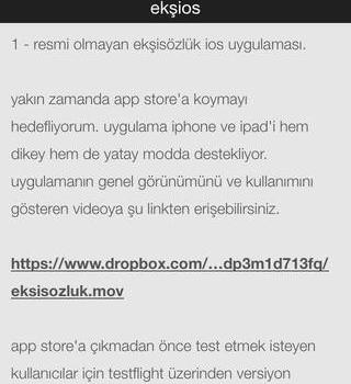 ekşiOS Ekran Görüntüleri - 3