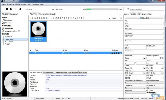 Emmi Music Library Ekran Görüntüleri - 1