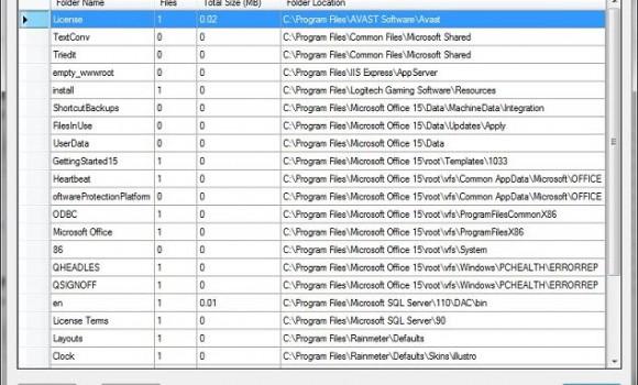 Empty Folder Finder Ekran Görüntüleri - 1
