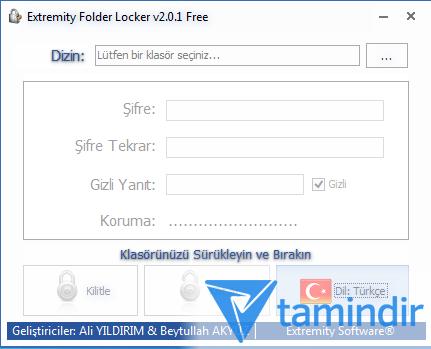 Extremity Folder Locker Free Ekran Görüntüleri - 1