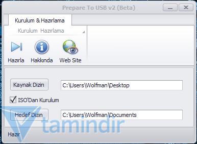 Extremity Prepare To USB Ekran Görüntüleri - 3