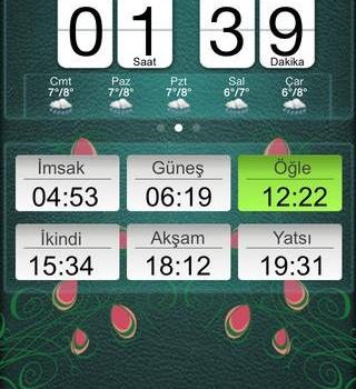 Ezan Vakti / Kur'an-ı Kerim Pro Ekran Görüntüleri - 5