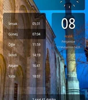 Ezan Vakti / Namaz Saati Ekran Görüntüleri - 5