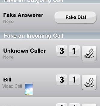 Fake-A-Call Free Ekran Görüntüleri - 3