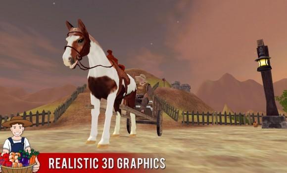 Farm Hill Climb Horse Ekran Görüntüleri - 3