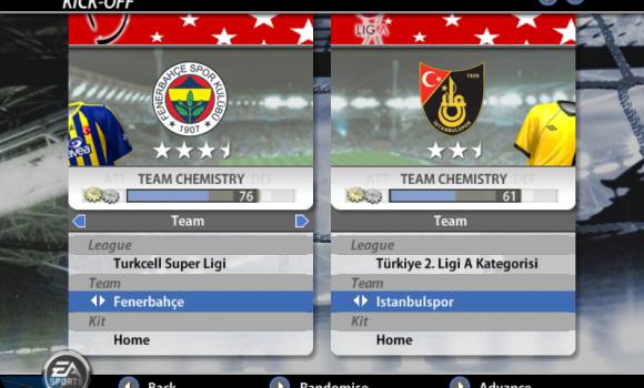 Fifa 2006 Turkcell Süper Ligi Ekran Görüntüleri - 1