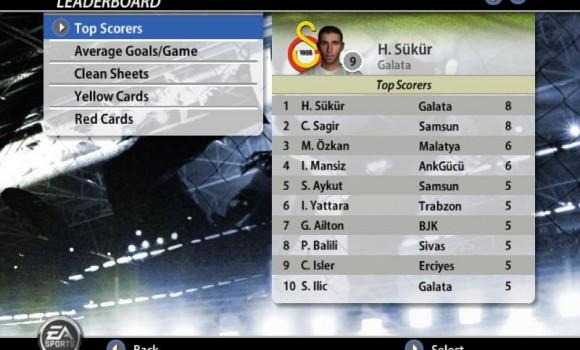 Fifa 2006 Turkcell Süper Ligi Ekran Görüntüleri - 2