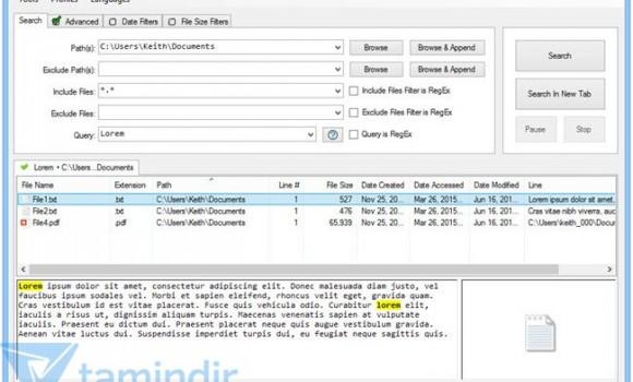 FileSeek Ekran Görüntüleri - 1
