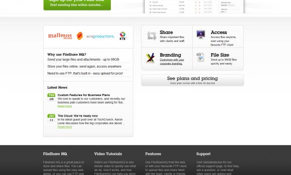 FileShare HQ Ekran Görüntüleri - 1