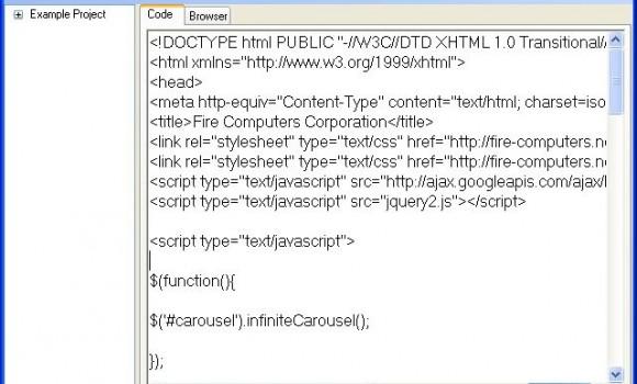 FireHTML Editor Ekran Görüntüleri - 1