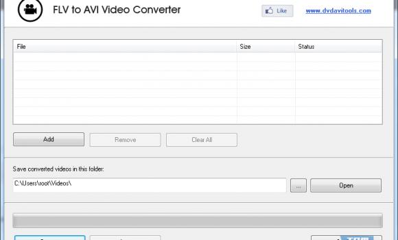 FLV to AVI Video Converter Ekran Görüntüleri - 1