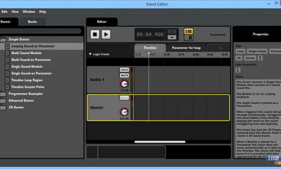 FMOD Studio Ekran Görüntüleri - 2