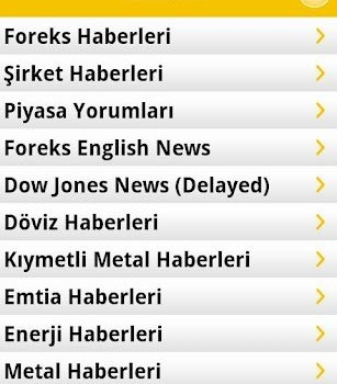 Forex Mobile Ekran Görüntüleri - 2