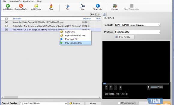 Free Convert MP4 To MP3 Ekran Görüntüleri - 5