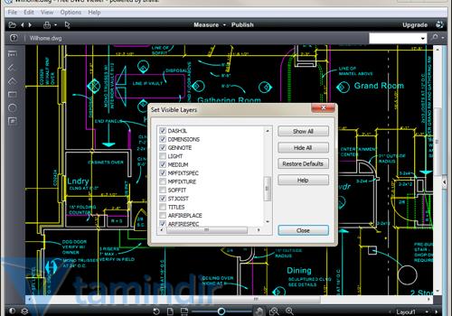 Free DWG Viewer Ekran Görüntüleri - 2