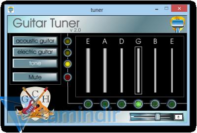 Free Guitar Tuner Ekran Görüntüleri - 1