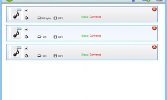 Free MIDI To MP3 Converter Ekran Görüntüleri - 1