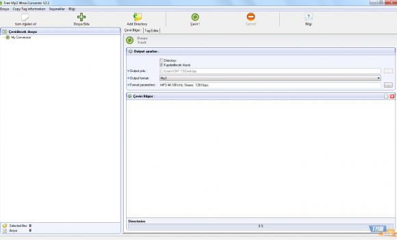 Free MP3 WMA Converter Ekran Görüntüleri - 4