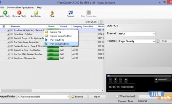 Free OGG To MP3 Converter Ekran Görüntüleri - 2