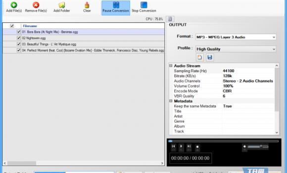 Free OGG To MP3 Converter Ekran Görüntüleri - 1