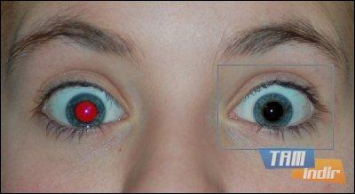 Free Red-eye Reduction Tool Ekran Görüntüleri - 1