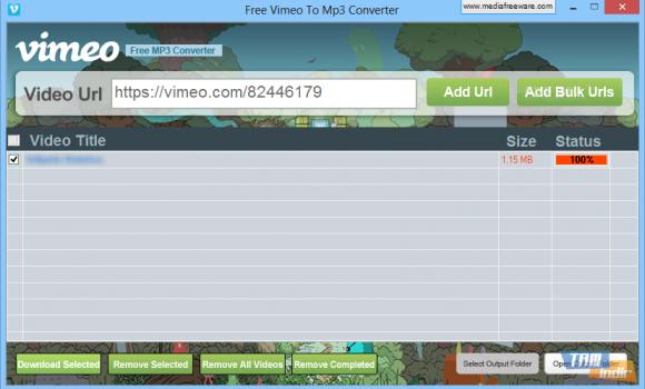 Free Vimeo to Mp3 Converter Ekran Görüntüleri - 1