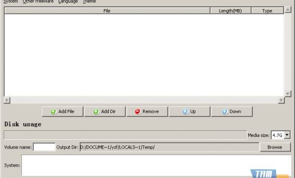FreeStar Burner-DVD Software Ekran Görüntüleri - 1