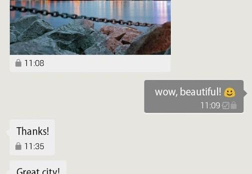 G Data Secure Chat Ekran Görüntüleri - 1