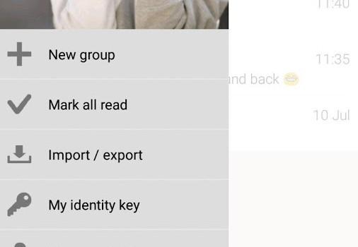 G Data Secure Chat Ekran Görüntüleri - 3