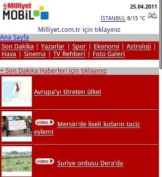 Gazeteler Ekran Görüntüleri - 3
