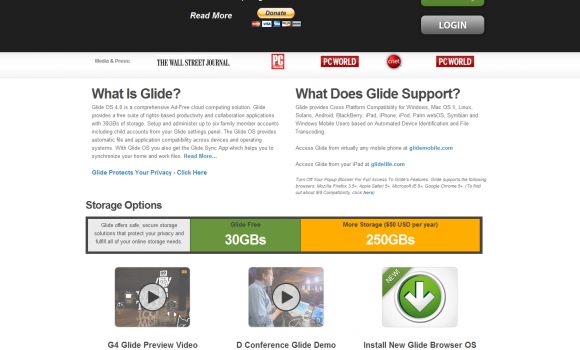 Glide OS Ekran Görüntüleri - 5