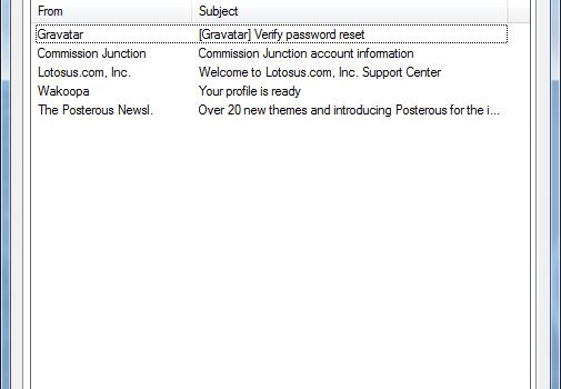 Gmail Peeper Ekran Görüntüleri - 4