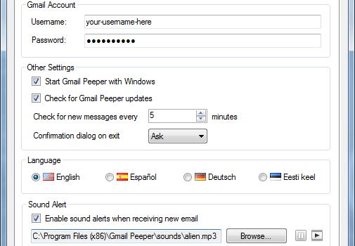 Gmail Peeper Ekran Görüntüleri - 3