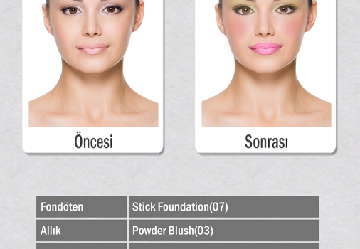 Golden Rose Sanal Makyaj Ekran Görüntüleri - 1