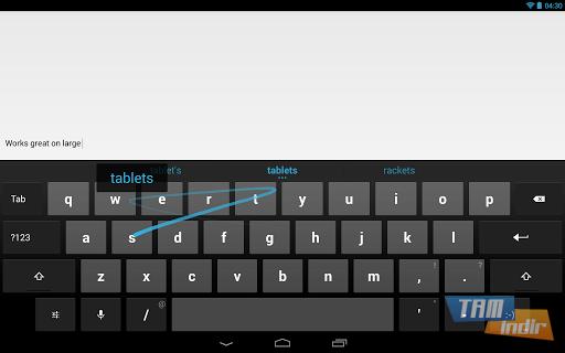 Google Klavye Ekran Görüntüleri - 3