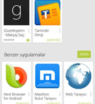 Google Play (APK) Ekran Görüntüleri - 1