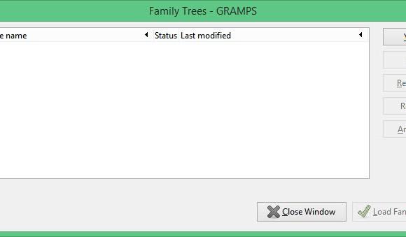 Gramps Ekran Görüntüleri - 1