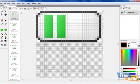Greenfish Icon Editor Pro Ekran Görüntüleri - 1