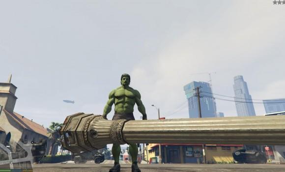 GTA 5 Hulk Modu Ekran Görüntüleri - 5