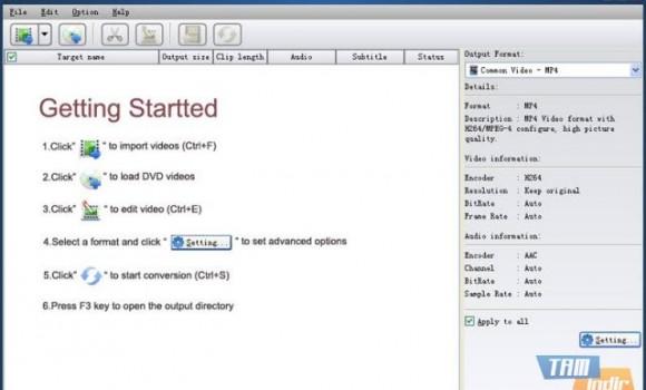 HappyTime Video Converter Ekran Görüntüleri - 1