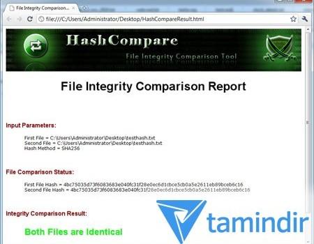 Hash Compare Ekran Görüntüleri - 2