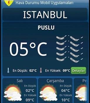 Meteoroloji Hava Durumu Ekran Görüntüleri - 1