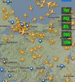 Hava Radar Ekran Görüntüleri - 2
