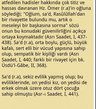 Hayatü's Sahabe Ekran Görüntüleri - 1